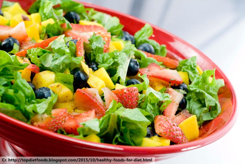 fresh salad, Mixed Salad