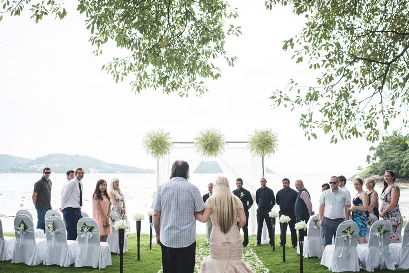 Wedding at Thavorn Beach Village