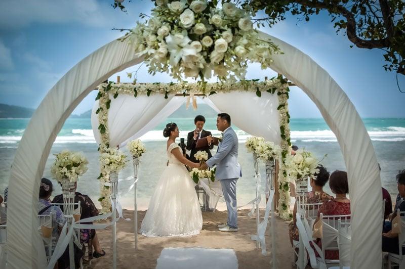 Thavorn Beach Village Wedding at Beach