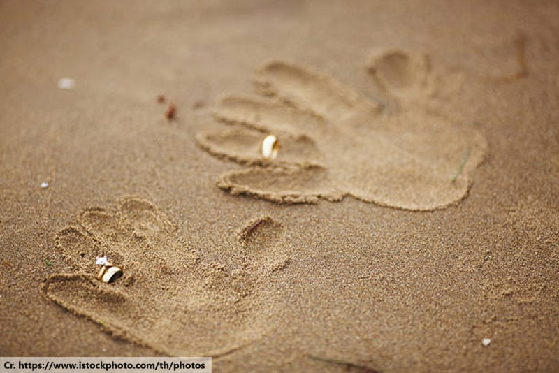 Prints in the Sand, Wedding in Phuket