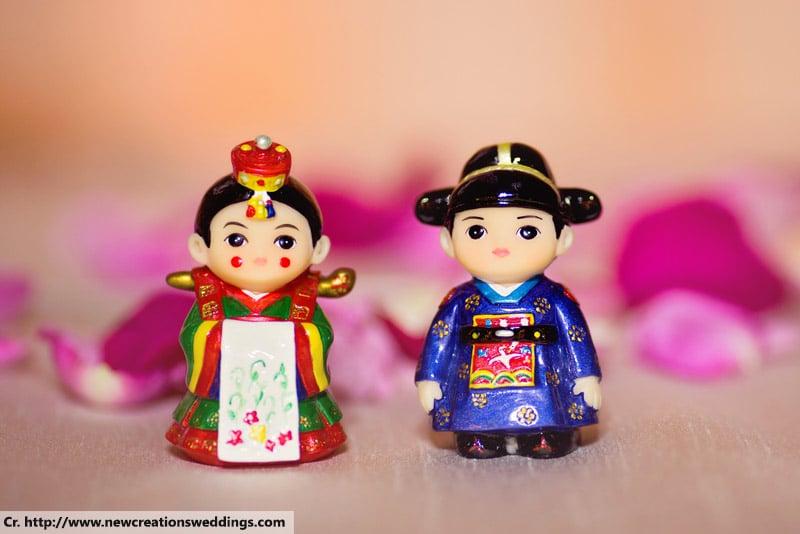 wedding dolls souvenir