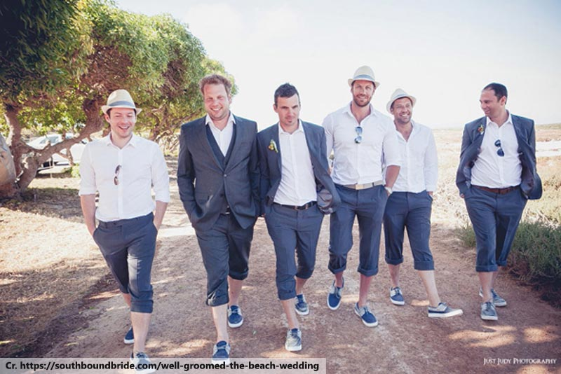 Phuket Beach Wedding, Attire for Groomsmen
