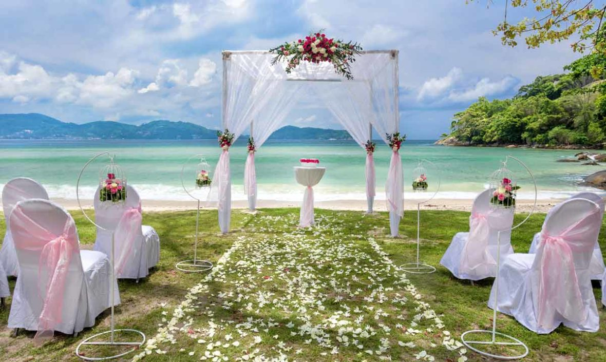Vows on the Beach, wedding in Phuket
