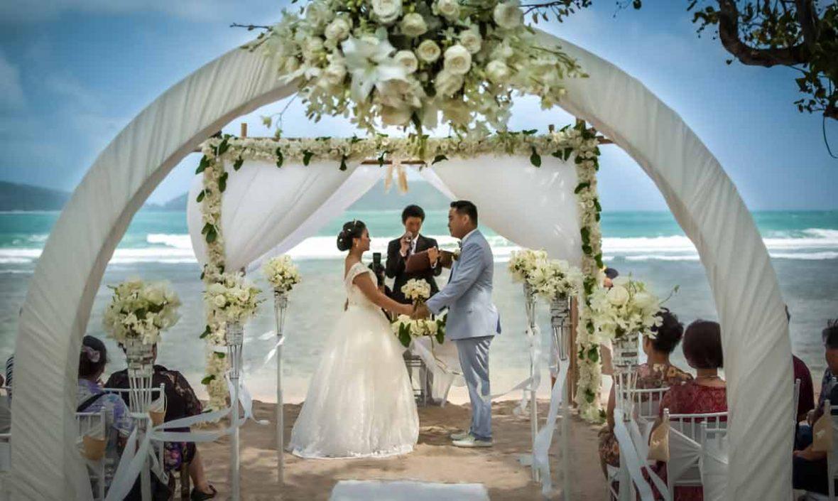 Phuket beach wedding, Thavorn Beach Village Resort & Spa