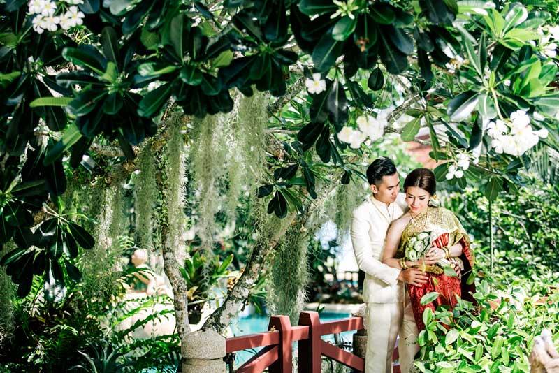 pre-wedding photo, wedding thai style