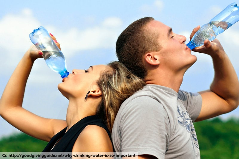 drinking water good for health